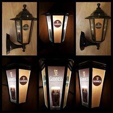 Guinness themed lantern Guinness replica light Wall Lantern pub bar Man cave led
