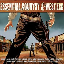 ESSENTIAL COUNTRY & WESTERN - JOHNNY CASH, EDDY ARNOLD, DON GIBSON - 2 CD NEUF