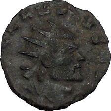 Claudius II Gothicus 268AD Ancient Roman Coin Ares Mars War God Cult   i44804