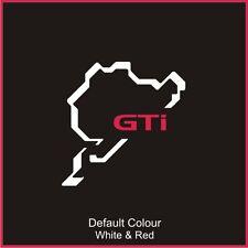 Nurburgring GTI Circuit Decal, Track, Vinyl, Sticker, Graphics, N2031