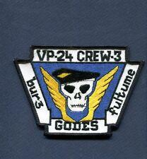 VP-24 BATMEN CAC COMBAT AIR CREW 3 NAVY LOCKHEED P-3 ORION Squadron Patch