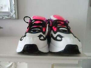 LADIES Nike Air Max 200 White Hyper Pink Black TRAINERS UK SIZE 5