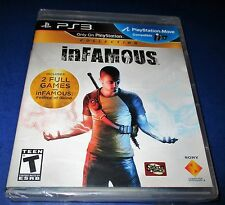 Infamous Collection Sony PlayStation 3 * FACTORY SEALED! * Kostenloser Versand!