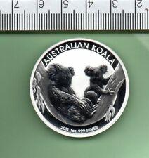 2011 AUSTRALIA SILVER $ KOALA PERTH MINT CAPSULED COIN