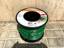 STIHL Filo per Decespugliatore Tondo Diametro 4mm Bobina da 90m - Verde (00009303603)