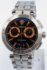 Versace Uhr Uhren Herrenuhr Chronograp Swiss Made Markenuhr mit Zertifikat NEU