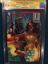 FRANK MILLER 4 SIGNED DK III The Master Race CGC 9.6 Andy Kubert Wonder Woman