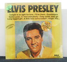 "ELVIS PRESLEY ""Le Disque D'Or"" vinyl LP still SEALED France"