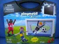 Playmobil 5994 - Sports & Action Soccer Carrying Case Playset - NEW