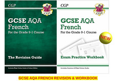 GCSE AQA FRENCH GUIDE REVISION & WORKBOOK 2 BOOK BUNDLE (2 BOOK BUNDLE)