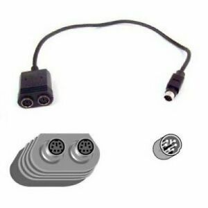 Belkin PS/2 Keyboard-Mouse Splitter Y-Cable F3G117-01 One Male to Two Female
