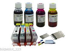 Refillable cartridge for HP 564XL Photosmart 5520 6520 6510 +4x100ml 1P