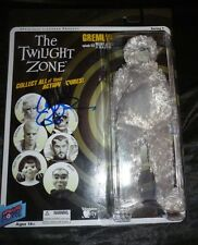 "Richard Donner Hand-Signed ""The Twilight Zone"" Gremlin Figure (Exact Proof)"