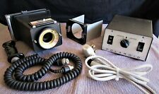 Polaroid CU-5 Land Camera With Power Pack, Frame & Grip