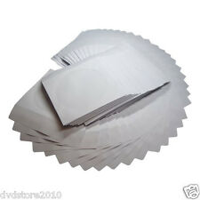 100 (circa) Bustine carta bianca Richiudibili per CD Bustina con finestra Box162