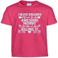 Awesome MOMMY Killing It Funny Mothers Day Birthday Christmas Gift Tee T Shirt