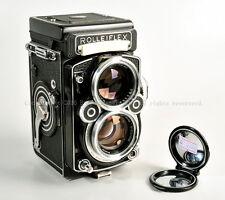RARE Rolleiflex  2.8F TLR White Face w/Planar 80mm f/2.8 No.295XXXX