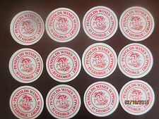 12  ST.GEORGES LEAGUES CLUB / PENFOLDS collectable COASTERS