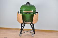 "YNNI 25"" Bespoke Light Green Kamado Grill Egg Inc.S.Steel Fittings TQ0025LG`"