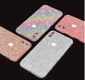 iPhone Samsung Huawei Glitter Full Body 360 Vinyl Skin Sticker Skin Wrap Cover