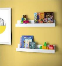 Shelving Shelf Display Units Set of 2 60cm White