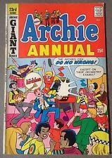 ARCHIE ANNUAL #23 (1971) Archie Comics Giant FINE-