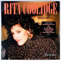 Rita Coolidge - Inside the Fire (1984) [SEALED] Vinyl LP • Something Said Love