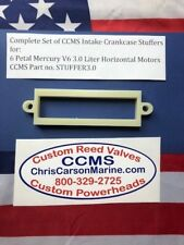 CCMS 3.0 Liter Mercury Outboard Racing Crankcase Stuffer Kit 6 Petal V6
