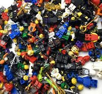 LEGO LOT OF 5 NINJAGO MINIFIGURES RANDOMLY PICKED KAI ZANE JAY NINJA GRAB BAG