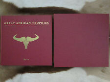 Great African Trophies by Diana Rupp Limited Edition Safari Press Hunting