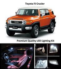 2007 - 2014 Toyota FJ Cruiser Premium White LED Interior Package (8 Pieces)