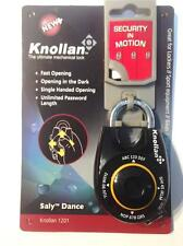 KNOLLAN Saly Dance SPEED RESETTABLE COMBINATION PADLOCK DIAL JOYSTICK BLACK