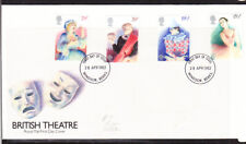 Great Britain 1982 British Theatre First Day Cover - Windsor