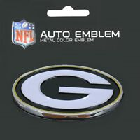 Green Bay Packers Heavy Duty Metal 3-D Color Auto Emblem