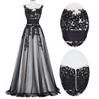 Long Tulle FORMAL Evening Ball Gown♡Party Prom Bridesmaid Wedding COCKTAIL Dress