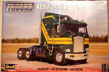 Kenworth K 100 Aerodyne Tractor Zugmaschine 1:25 Revell 2514 wieder neu 2017