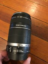 Canon EFS 55-250mm f/4-5.6 Image Stabilizer Lens