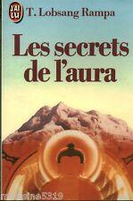 """Livre Esotérisme """" Les Secrets de l'Aura - T. Lobsang Rampa  """" ( No 1542 ) Book"""