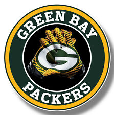 Green Bay Packers Vinyl Sticker Decal 8 Different Size Car Windows NFL football