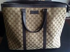Gucci Tasche, Supreme Beige, Leder Applikationen, Neu, unisex