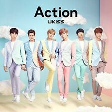 U-KISS-ACTION-JAPAN CD+DVD M13
