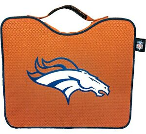 NFL Lightweight Stadium Bleacher Seat Cushion W/ Carrying Strap (Denver Broncos)