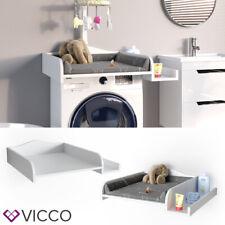 Vicco Wickelaufsatz Wickelauflage mit Ablage Wickeltischaufsatz Waschmaschine