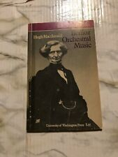 Berlioz Orchestral Music Hugh Macdonald Bbc Music Guides 1969 Paperback Book