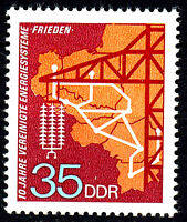 1871 postfrisch DDR Briefmarke Stamp East Germany GDR Year Jahrgang 1973