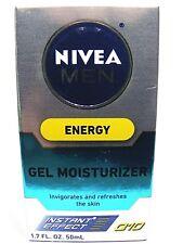 Nivea Men ENERGY GEL MOISTURIZER Instant Effect Q10 1.7oz(50ml)