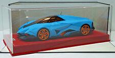 MR 1/18 Lamborghini Egoista Matt Baby Blue Ltd Edt 25pcs LAMBO013