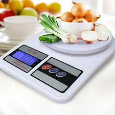More details for 10kg digital kitchen lcd electronic household food cooking scales weighing