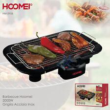 Barbecue Grill Bistecchiera Carne Verdure Hoomei HM5958 Giardino PicNic Piastra