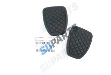 2x Genuine Subaru Clutch Brake Pedal Rubber Cover 36015GA111 Impreza Forester